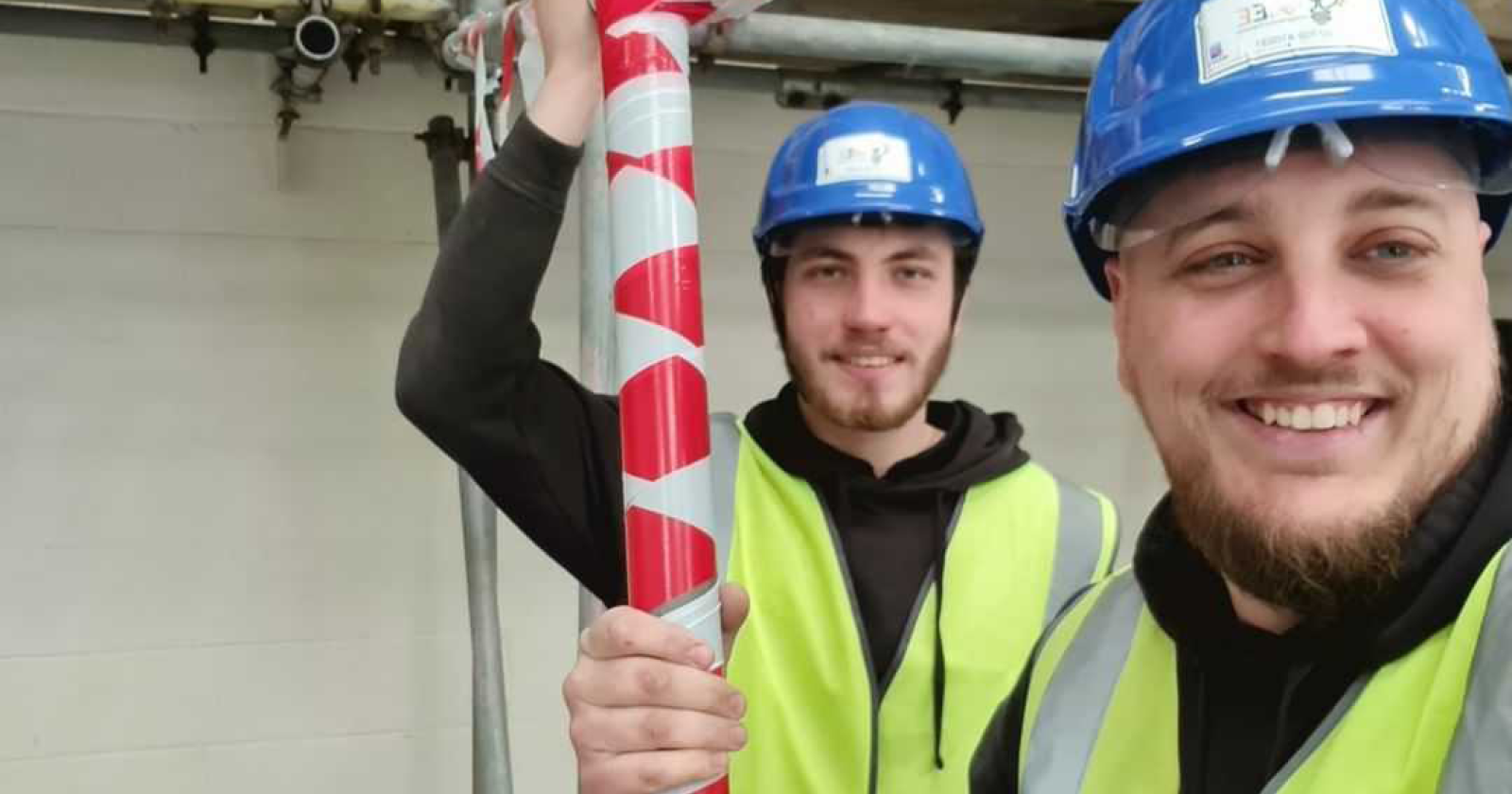 aee yorkshire trade employees smiling on the job