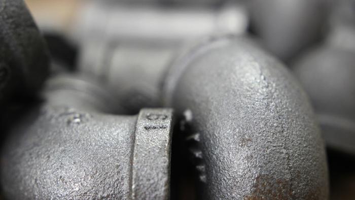 close up shot of plumbing pipes