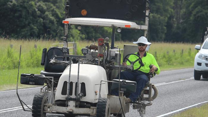 Suncoast Roadmarking AU roadside marking operator