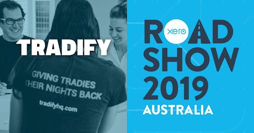 Tradify at Xero Roadshow Australia 2019