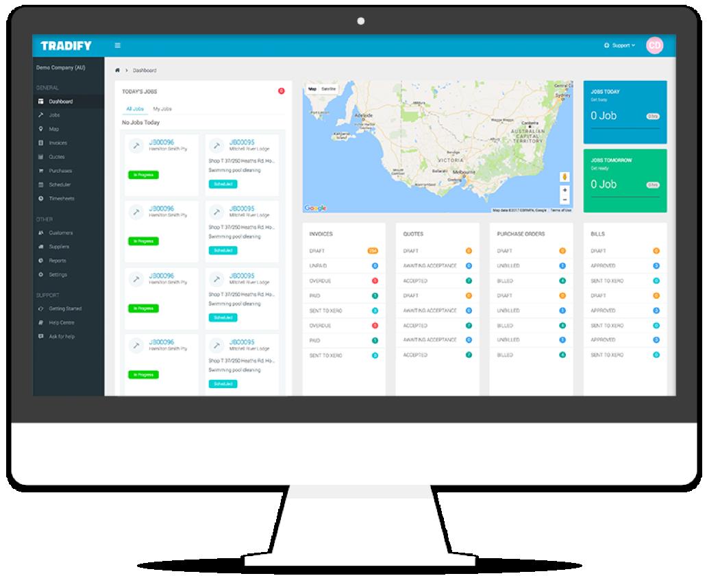 Tradify Job Management Software