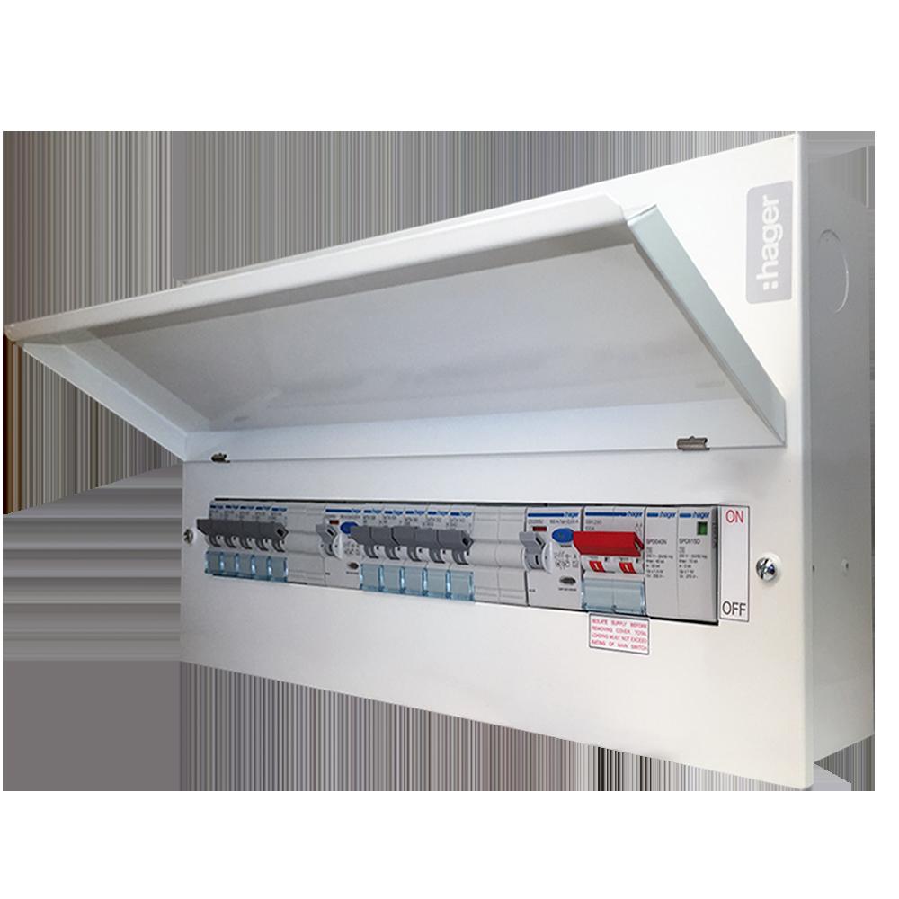 Hager-Dual-RCD-Board