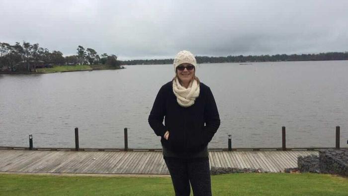 Mat_Natalie_standing infront of lake
