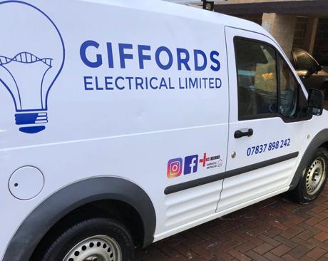 Giffords Electrical van
