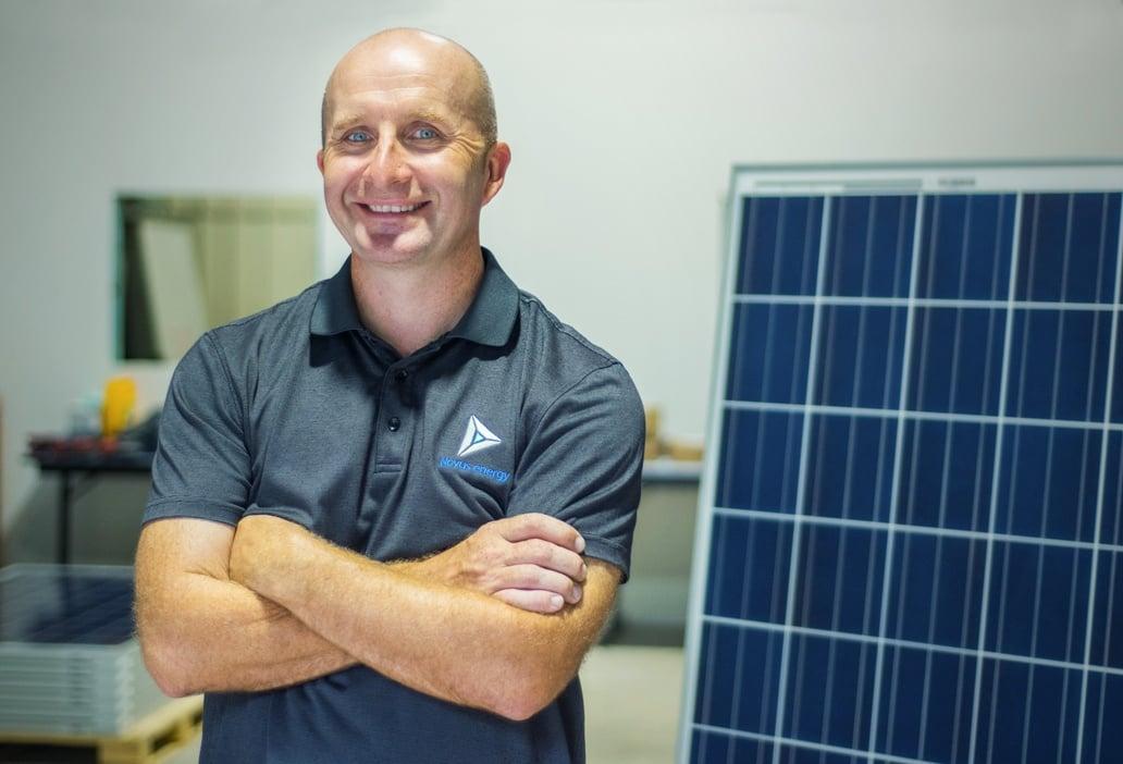 Scott Brady, Novus Energy