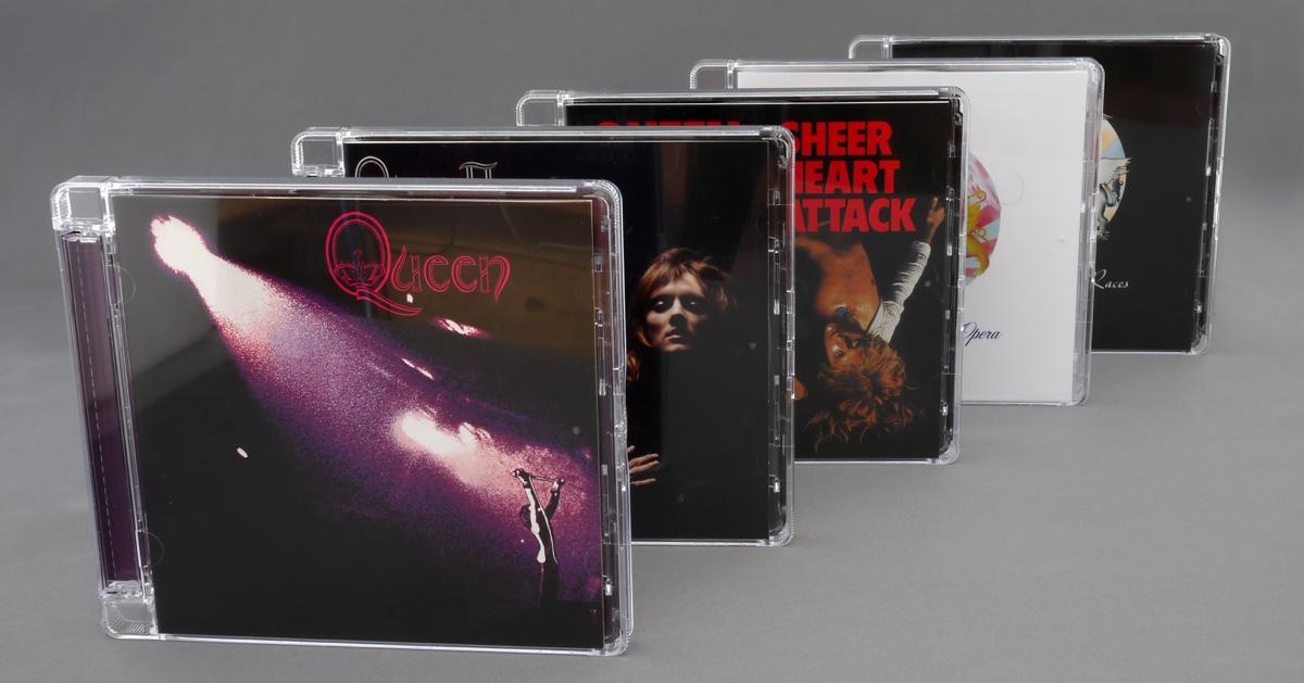Five Queen CDs