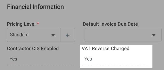 Reverse VAT 1