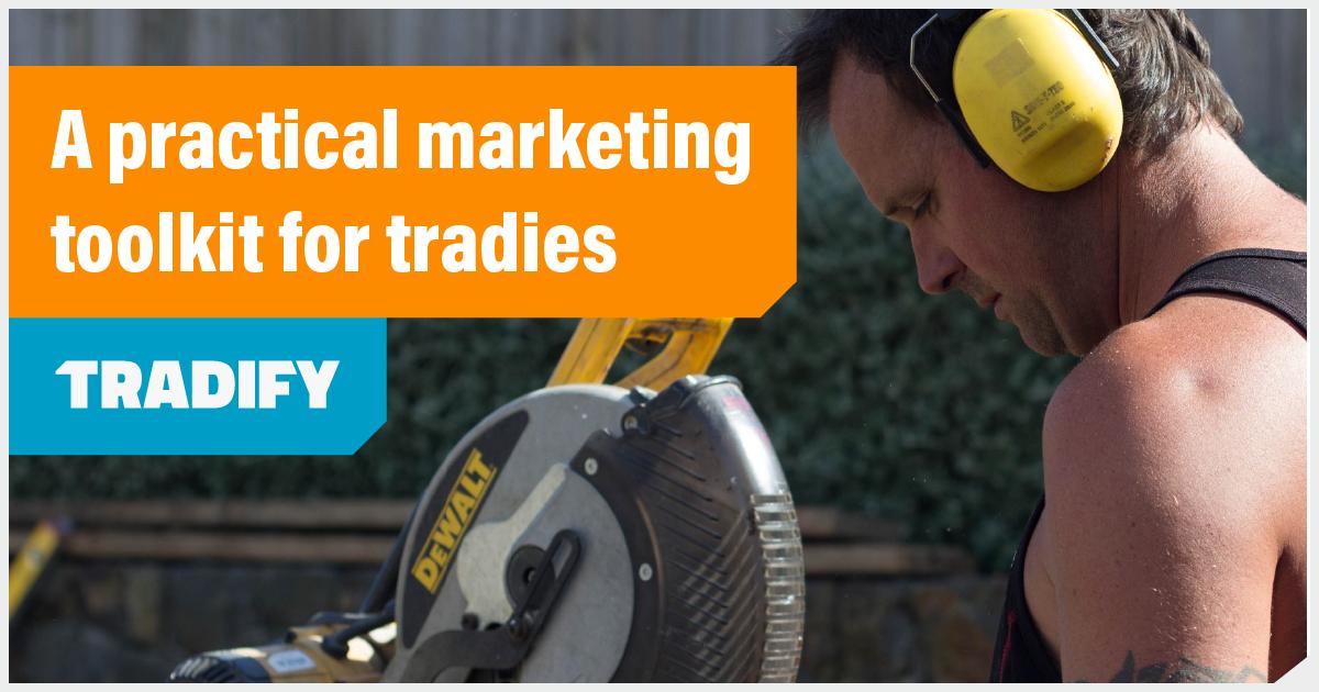 Tradify Marketing Toolkit