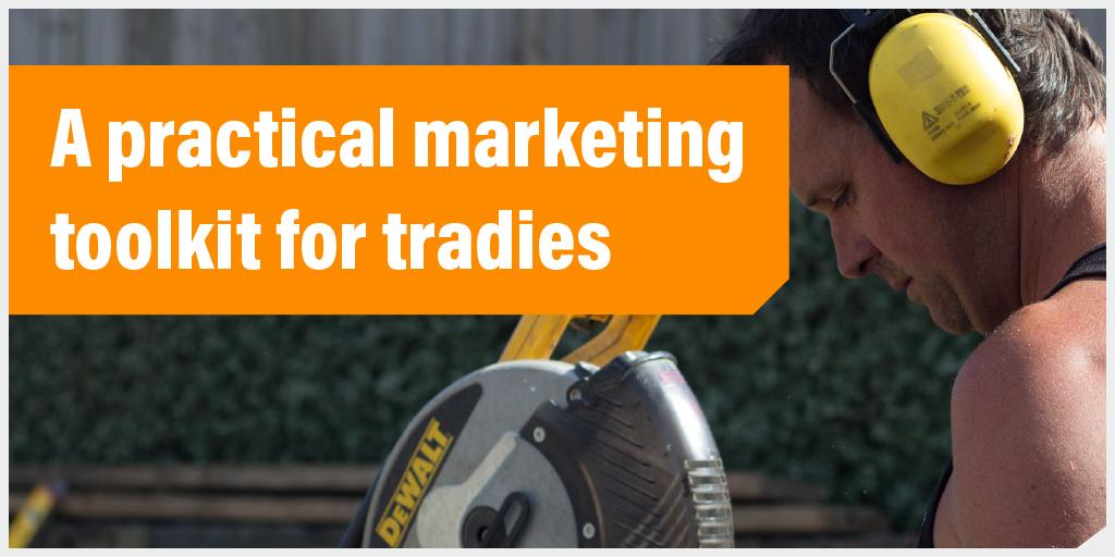 Tradify Marketing Toolkit button