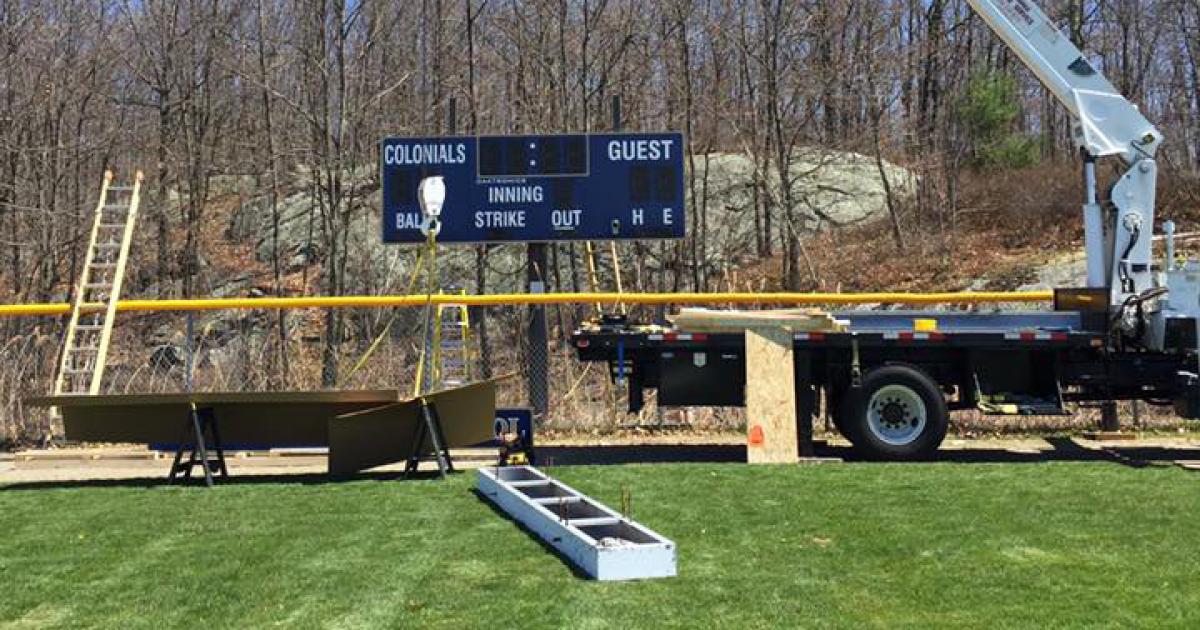 scoreboard enterprises board installation