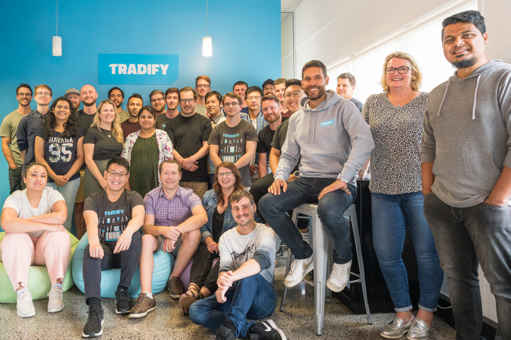 The team at Tradify