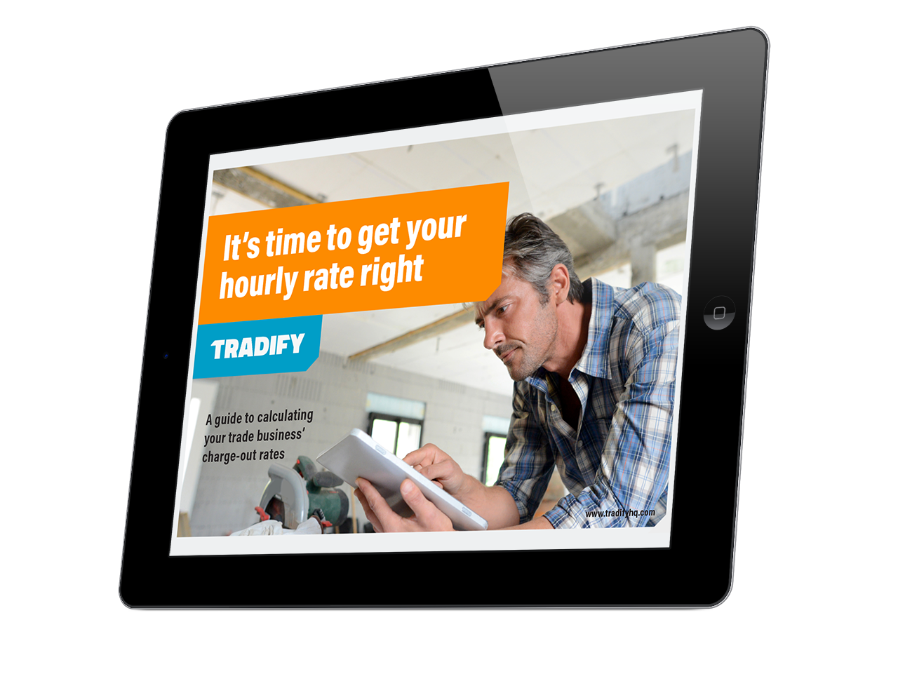 Tradify_Billable hours_3D cover